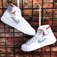 AIR JORDAN Tide brand high men and women canvas shoes