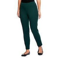 Isaac Mizrahi Live 24/7 Stretch Ankle Length Pull-On Pants — QVC.com