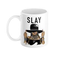 Beyonce Formation Slay Bey Beyhive King B Trill Fashion Fashionista Boss Coffee Mug - Case15