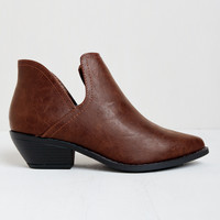 Inbox Cutout Booties