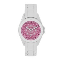 Radiant Pink Rose Wrist Watch