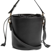 Bucket leather and canvas tote | J.W.Anderson | MATCHESFASHION.COM US