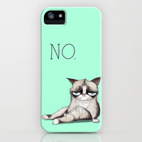 My Grumpy Cat 3 iPhone & iPod Case by stylishbunny