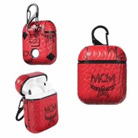 MCM AIRPODS CASE - RED