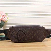 Louis Vuitton Women Leather Purse Waist Bag Single-Shoulder Bag Crossbody-12