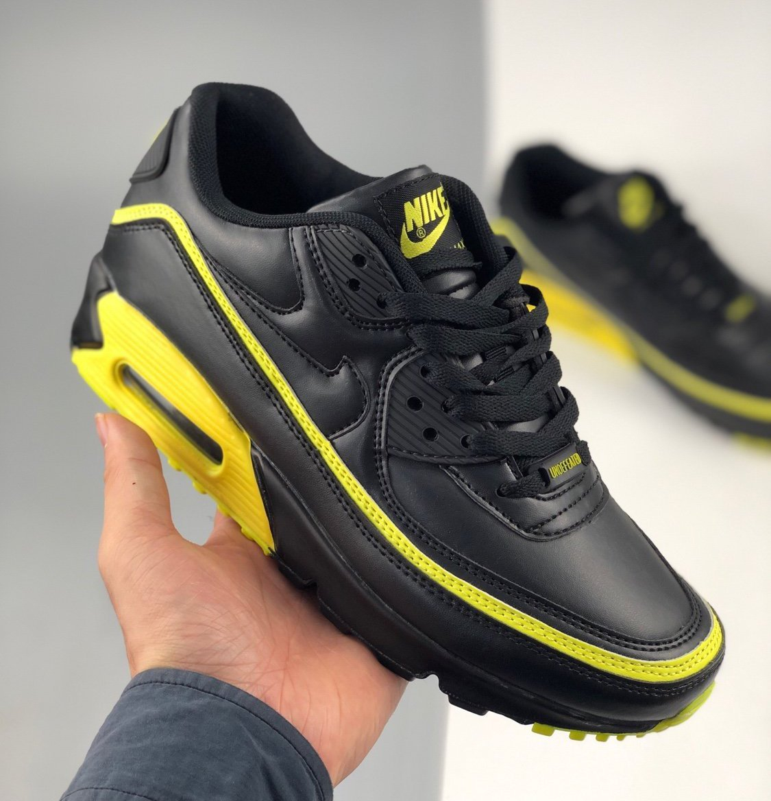 Image of Undefeated x Nike Air Max 90 Five Bars Joint Half Palm Air Cushion Retro Casual Running Shoes