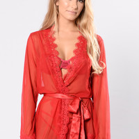 New Lover Robe - Red