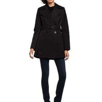 Via Spiga Women's Double Breasted Fall Trench Coat