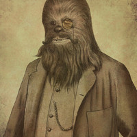 Chancellor Chewman Art Print by Terry Fan | Society6