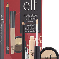 e.l.f. Cosmetics Online Only Matte About Shimmer Eye Set