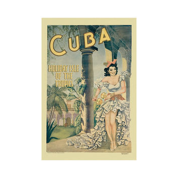 Cuba Wall Art by Vintage Poster