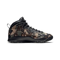 Air Jordan Men's 10 X Retro Woodland Camo