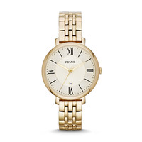 Jacqueline Stainless Steel Watch | Fossil