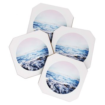 Leah Flores Surf Coaster Set