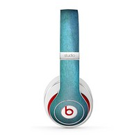 The Vivid Green Watercolor Panel Skin for the Beats by Dre Studio (2013+ Version) Headphones