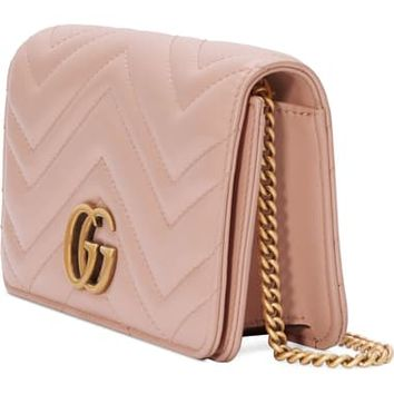 Gucci Marmont 2.0 Leather Shoulder Bag | Nordstrom
