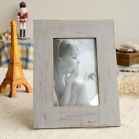 Creative Vintage Wooden Weathered Home Decoration Photo Frame = 5893866113