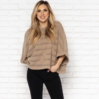 Camilla Sweater in Taupe