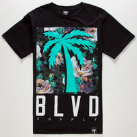 Blvd Funeral Mens T-Shirt Black  In Sizes