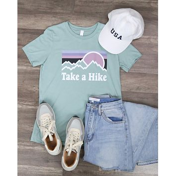 Take a Hike - The Perfect Hiking Tee - S/S Edition