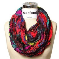 Scarfand's Mixed Color Infinity Scarf (RDFS)