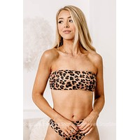 Eyes On You Cheetah Swimsuit Top