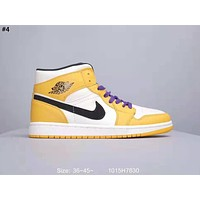 Air Jordan 1 Mid 2019 new high-top wild casual shoes #4