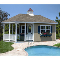 Homeplace 20 Ft. W x 10 Ft. D Wood Garden Shed | Wayfair