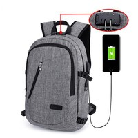 Anti-theft Smart Backpack with USB Port