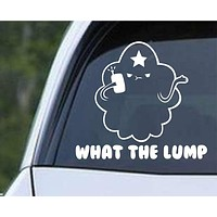 Adventure Time Lumpy Space Princess LSP What The Lump Die Cut Vinyl Decal Sticker