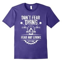 Motorcycle T Shirt For Bikers With a Cool Saying