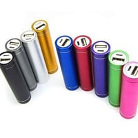Portable USB External Cell Phone Charger Power Bank Battery iPhone Samsung PSP
