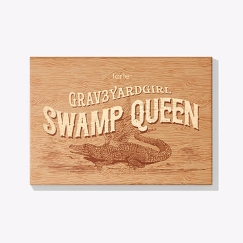 limited-edition Swamp Queen eye cheek palette with brush