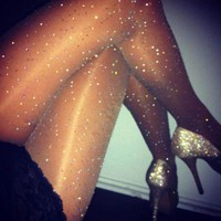 Sexy Stocking/ Mesh Pantyhose/ Crystal Rhinestone Stockings Hosiery FREE SHIPPING