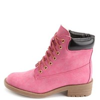 LACE-UP LUG SOLE WORK BOOT
