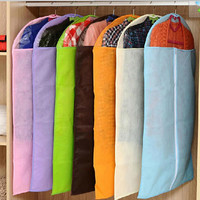 S/M/L Sizes Dress Clothes Garment Suit Cover Bag Dustproof Jacket Skirt Storage Protector Free Shipping