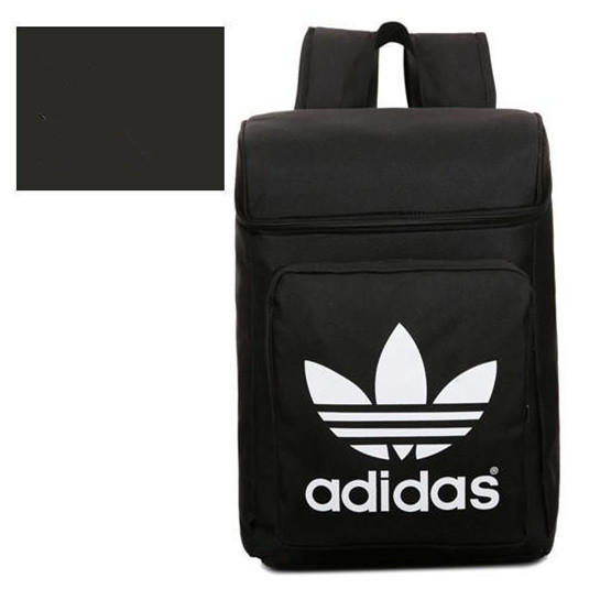 """Image of """"Adidas"""" Fashion Casual Male Female Student Canvas College Winds Clover Couple Travel Movement Backpack"""