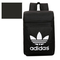 """Adidas"" Fashion Casual Male Female Student Canvas College Winds Clover Couple Travel Movement Backpack"