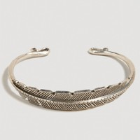 AEO Carved Leaf Cuff | American Eagle Outfitters