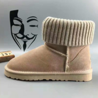 UGG leather boots boots in tube Boots Khaki