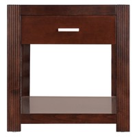 kathy ireland Home by Martin Carlton Entertainment Collection End Table | www.hayneedle.com