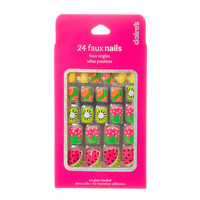 Fruit Salad Faux Nails