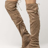 YOKI Over The Knee Womens Boots   Boots & Booties