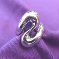 ON SALE was 22.99 Vintage Silver Ring