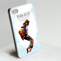 Michael Jackson's This is it like youve never- Customized iPhone 4/4S & iphone 5