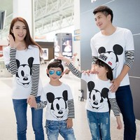 Matching Mickey Mouse Family Shirts