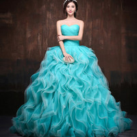Vestidos de 15 anos quinceanera gown quinceanera dresses dress for 15 years sweet 16 dresses masquerade ball gowns green red Alternative Measures - Brides & Bridesmaids - Wedding, Bridal, Prom, Formal Gown