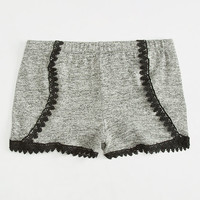 FULL TILT Crochet Trim Girls Shorts | Shorts