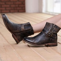 Becca Boots - Black Lux by Bed Stu