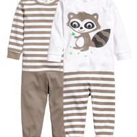 2-pack Jersey Pajamas - from H&M
